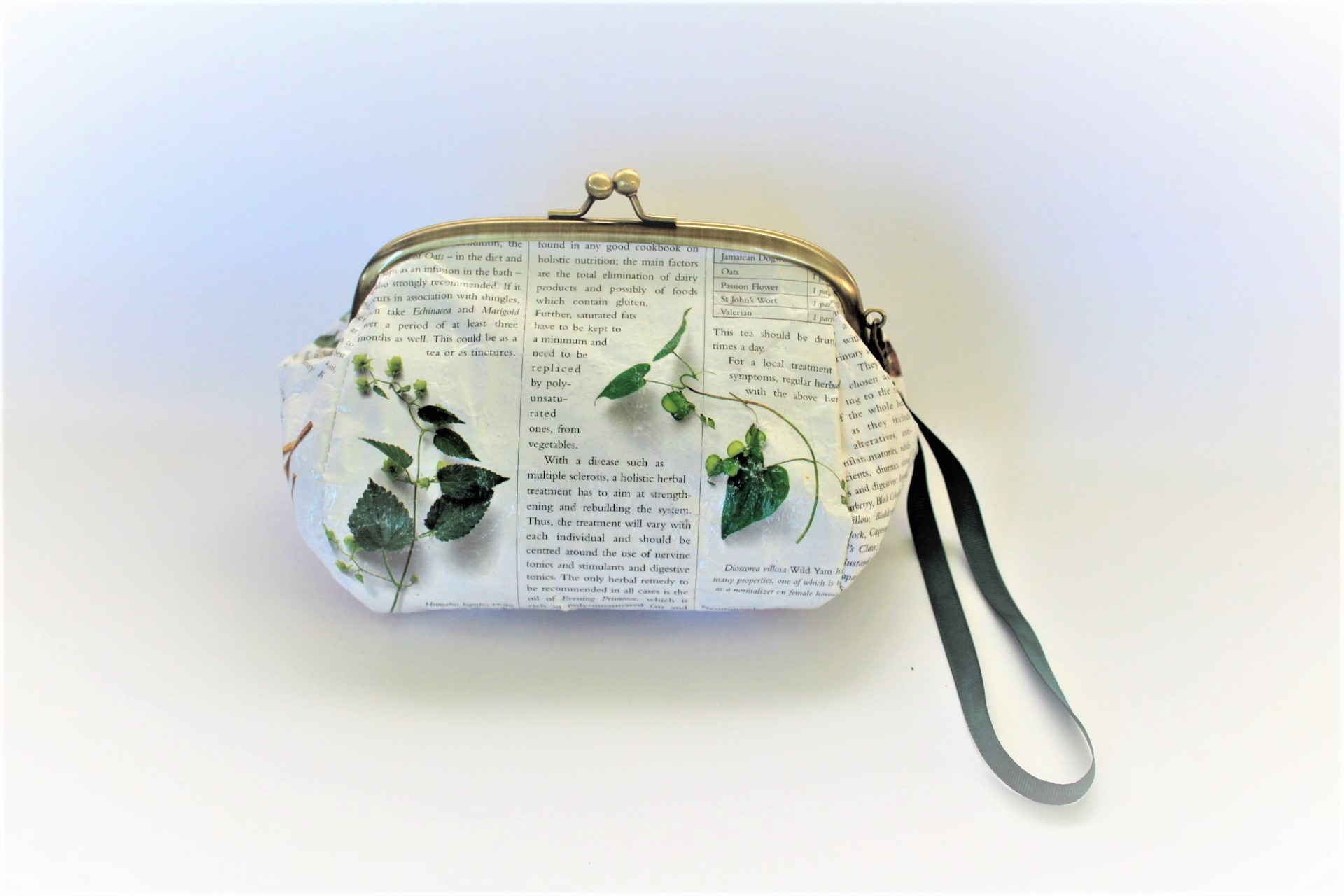 Makeup Pouch From Medicinal Herbs Book